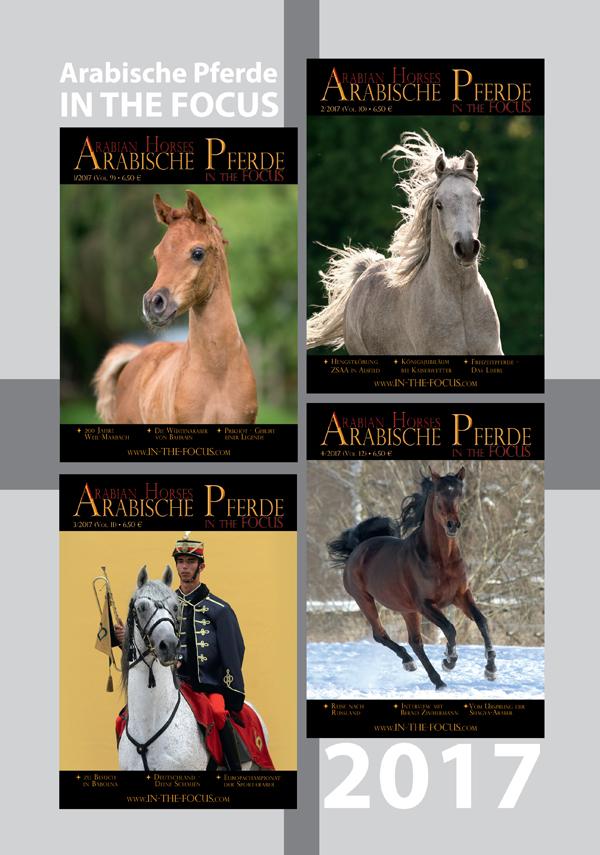Arabische Pferde IN THE FOCUS Jahrgang 2017