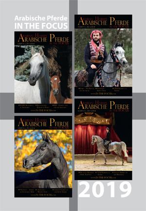 Arabische Pferde IN THE FOCUS Jahrgang 2019